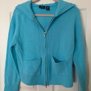 Teal sweater hoodie 🌟Final Price🌟